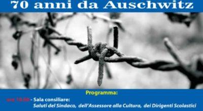70 anni da Aushwitz – Giorno della Memoria – 31 Gennaio 2015